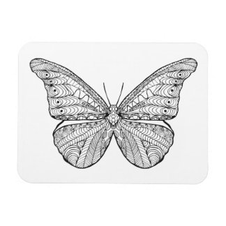 Inspired Butterfly Magnet