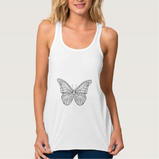 Inspired Butterfly Tank Top