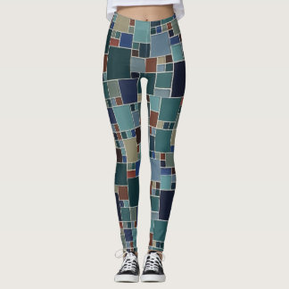 Inspired by a famous artist - color block leggings