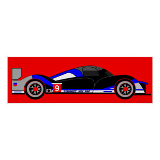 Inspired by Peugeot 908 HDi FAP Print