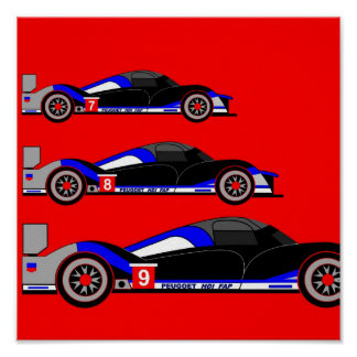 Inspired by Peugeot 908 HDi FAP Poster