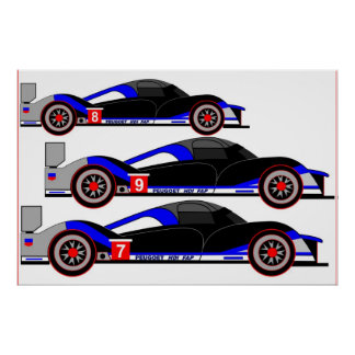 Inspired by Peugeot 908 HDi FAP Posters