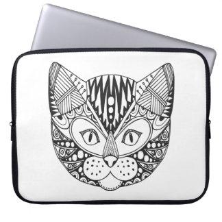 Inspired Cat Laptop Sleeve