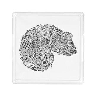Inspired Chameleon 2 Acrylic Tray
