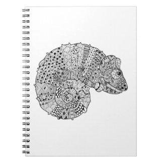 Inspired Chameleon 2 Spiral Notebook