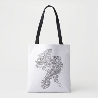 Inspired Chameleon 3 Tote Bag