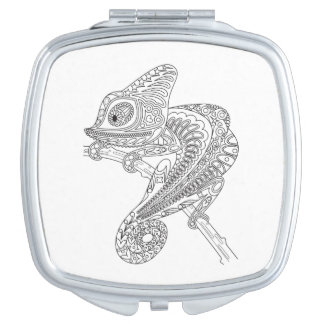 Inspired Chameleon Compact Mirror
