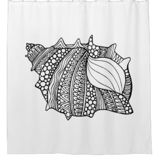 Inspired Doodle Shower Curtain