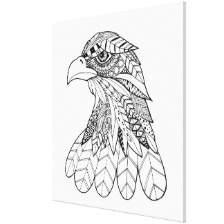 Inspired Eagle 11 Canvas Print