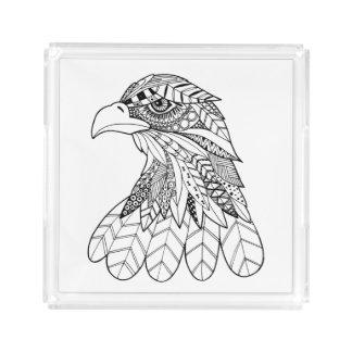Inspired Eagle Acrylic Tray
