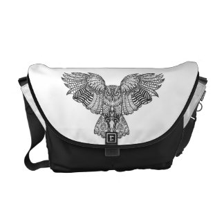 Inspired Eagle Owl Courier Bags
