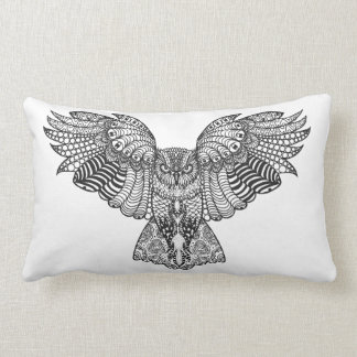 Inspired Eagle Owl Lumbar Cushion