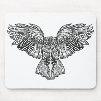 Inspired Eagle Owl Mouse Mat