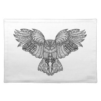 Inspired Eagle Owl Place Mats