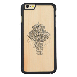 Inspired Elephant Carved® Maple iPhone 6 Plus Case