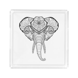 Inspired Elphant Head Acrylic Tray