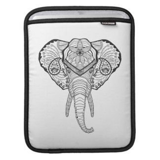 Inspired Elphant Head iPad Sleeve