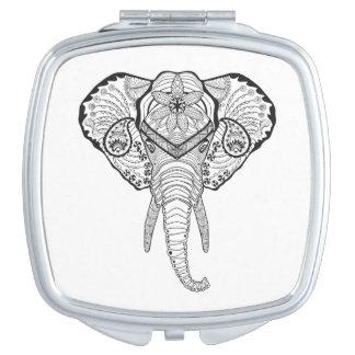 Inspired Elphant Head Makeup Mirror