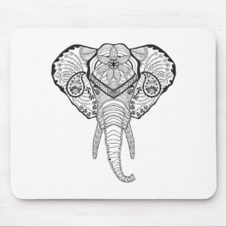 Inspired Elphant Head Mouse Mat