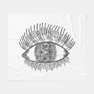 Inspired Eye Fleece Blanket