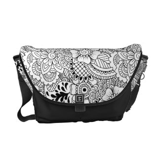 Inspired Flowers Courier Bags