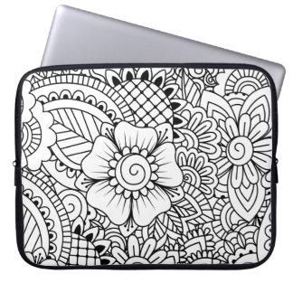 Inspired Flowers Laptop Sleeve