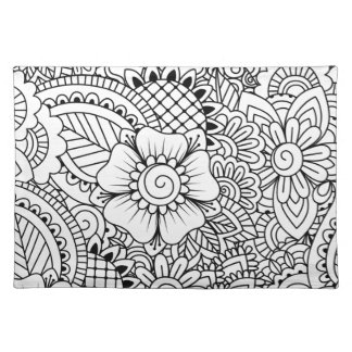 Inspired Flowers Placemat