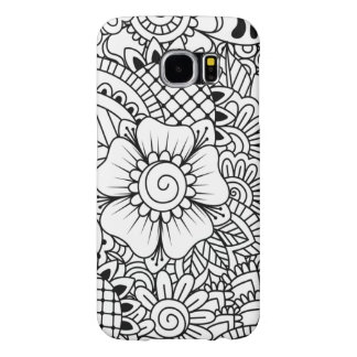 Inspired Flowers Samsung Galaxy S6 Cases