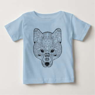 Inspired Fox Head Baby T-Shirt