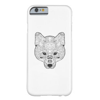 Inspired Fox Head Barely There iPhone 6 Case