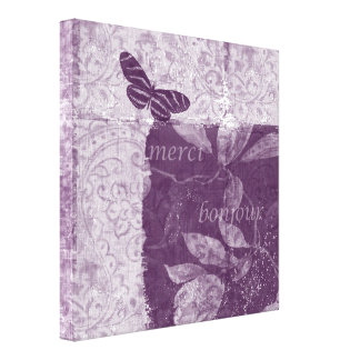 Inspired French Lilac Canvas Print