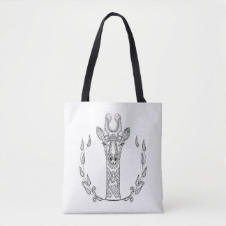 Inspired Giraffe 2 Tote Bag