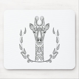 Inspired Giraffe Mouse Mat
