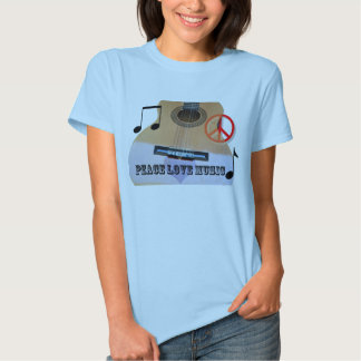 Inspired Guitar Tee Shirt