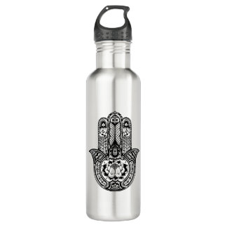 Inspired Hamsa Symbol 710 Ml Water Bottle
