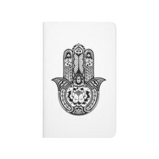 Inspired Hamsa Symbol Journal