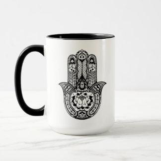 Inspired Hamsa Symbol Mug