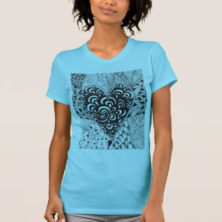 Inspired Heart Doodle T-Shirt
