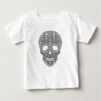 Inspired Human Skull Baby T-Shirt