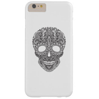 Inspired Human Skull Barely There iPhone 6 Plus Case