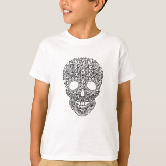 Inspired Human Skull T-Shirt