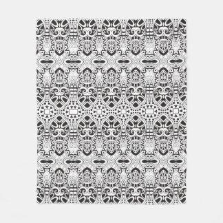 Inspired Illustration Fleece Blanket