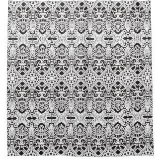 Inspired Illustration Shower Curtain