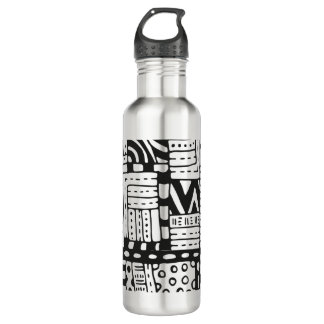 Inspired Indian Abstract Figures 710 Ml Water Bottle