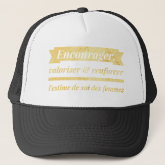 Inspired & inspiring trucker hat
