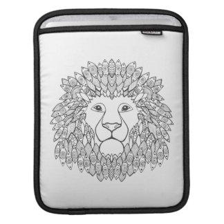 Inspired Lion Head 3 iPad Sleeve