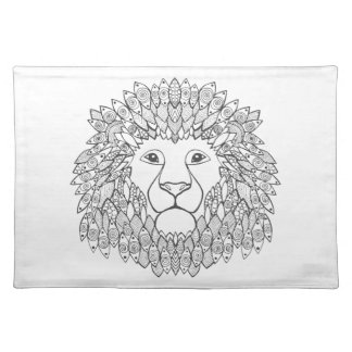 Inspired Lion Head 3 Placemat