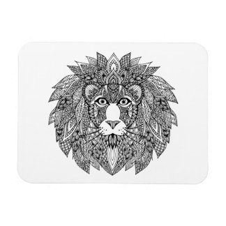 Inspired Lion Head 4 Magnet