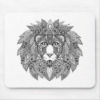 Inspired Lion Head 4 Mouse Mat