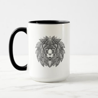 Inspired Lion Head 4 Mug